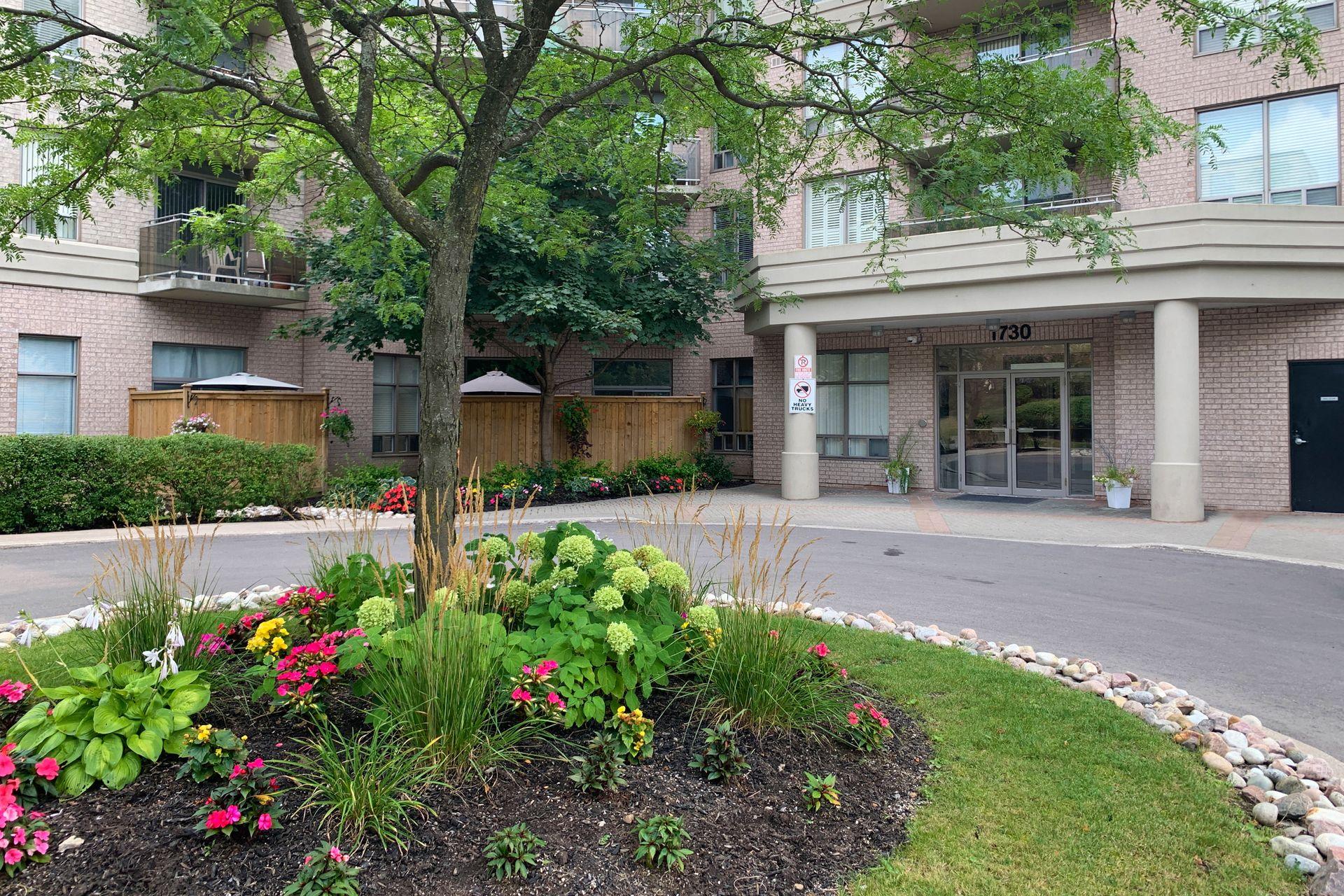Front at 610 - 1730 Eglinton Avenue E, Victoria Village, Toronto