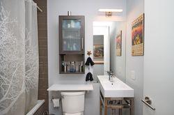 4 Piece Bathroom at TH6 - 25 Stafford Street, Niagara, Toronto