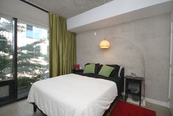 Primary Bedroom at TH6 - 25 Stafford Street, Niagara, Toronto