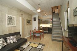 Living Room at TH6 - 25 Stafford Street, Niagara, Toronto