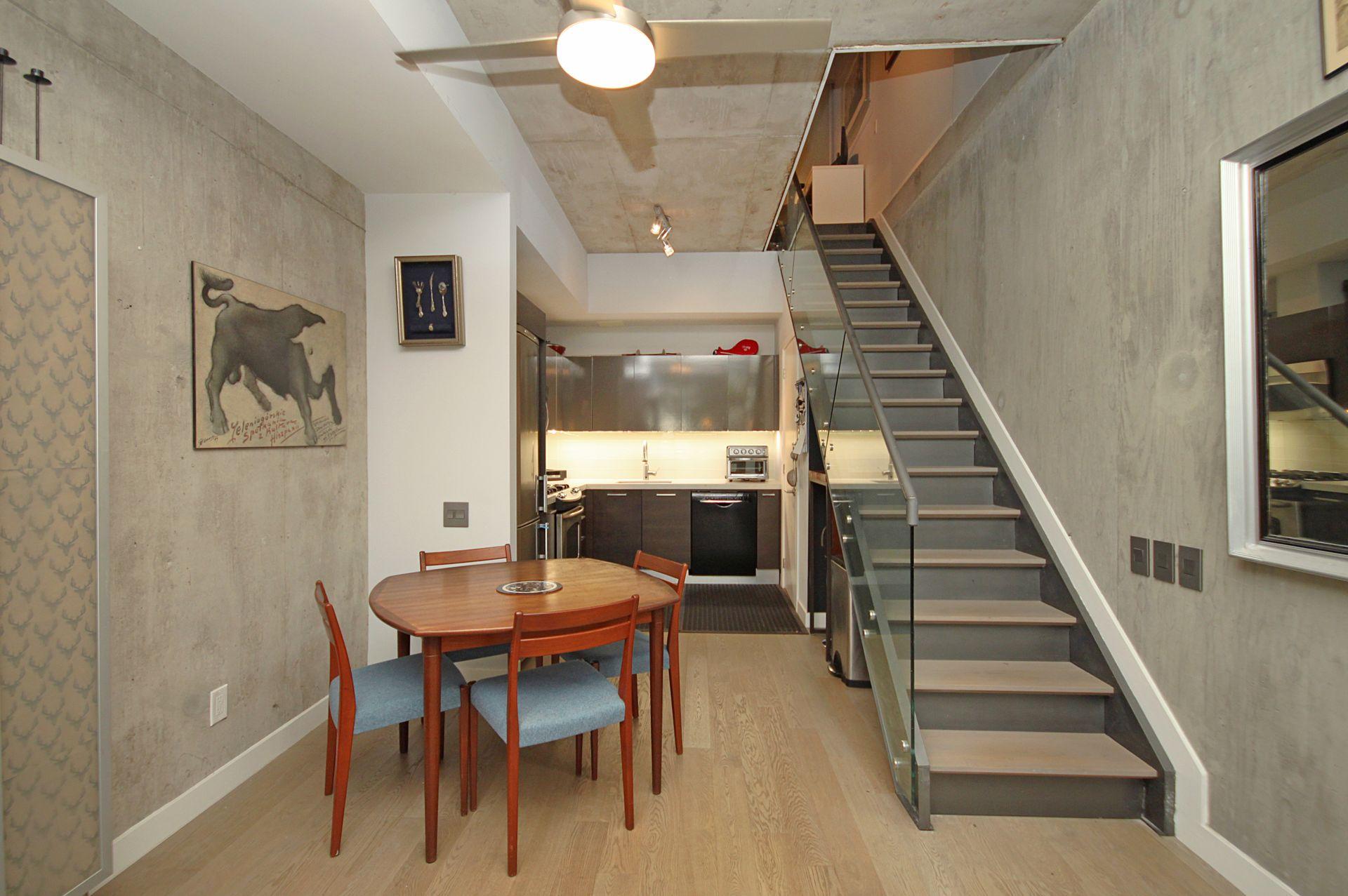 Dining Room at TH6 - 25 Stafford Street, Niagara, Toronto