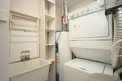 Laundry Room at 810 - 18 Concorde Place, Banbury-Don Mills, Toronto