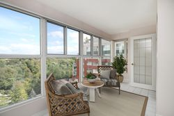 Sunroom with Virtual Staging at 810 - 18 Concorde Place, Banbury-Don Mills, Toronto