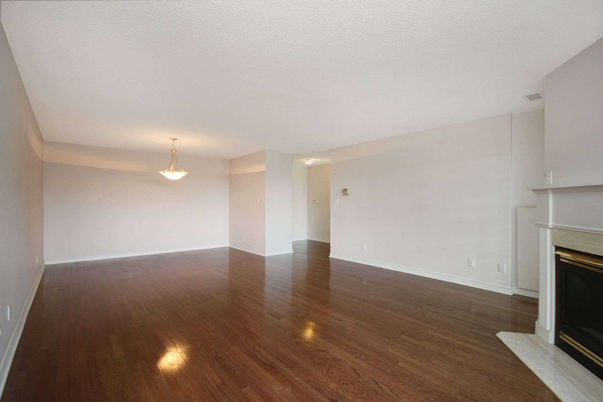 Living Room & Dining Room at 810 - 18 Concorde Place, Banbury-Don Mills, Toronto