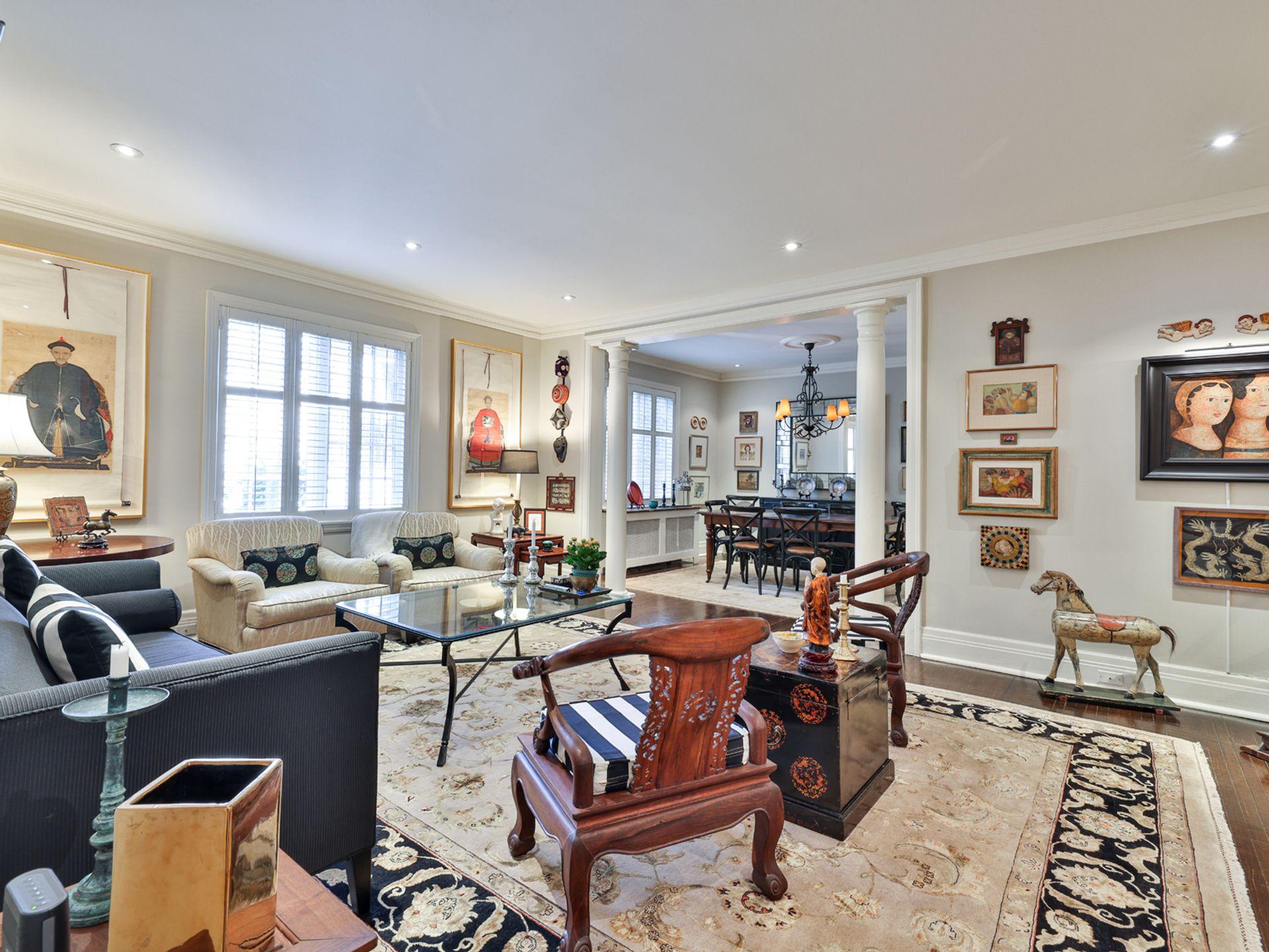 Living Room at 305 - 150 St. Clair Avenue W, Yonge-St. Clair, Toronto