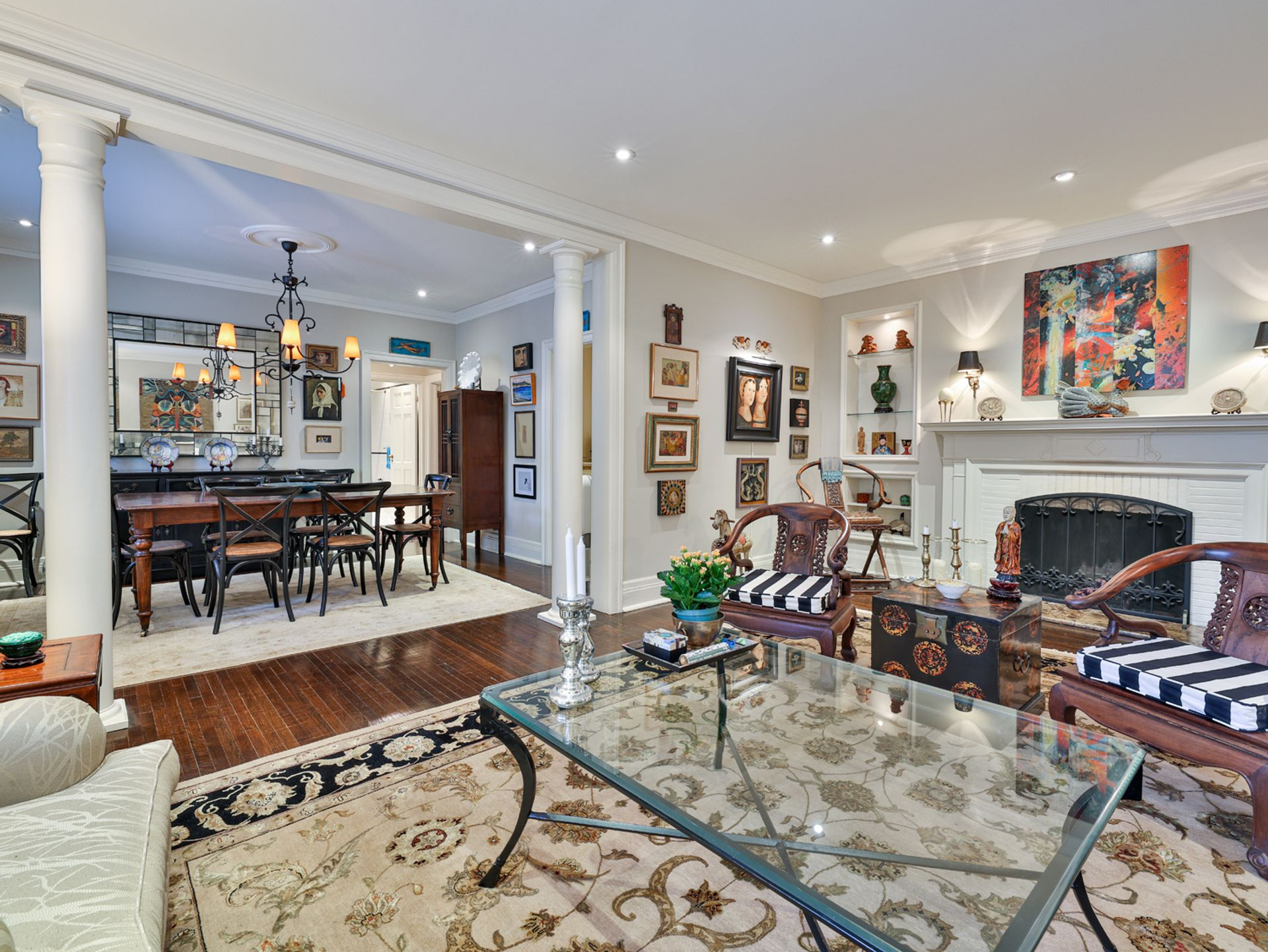 Living & Dining Room at 305 - 150 St. Clair Avenue W, Yonge-St. Clair, Toronto