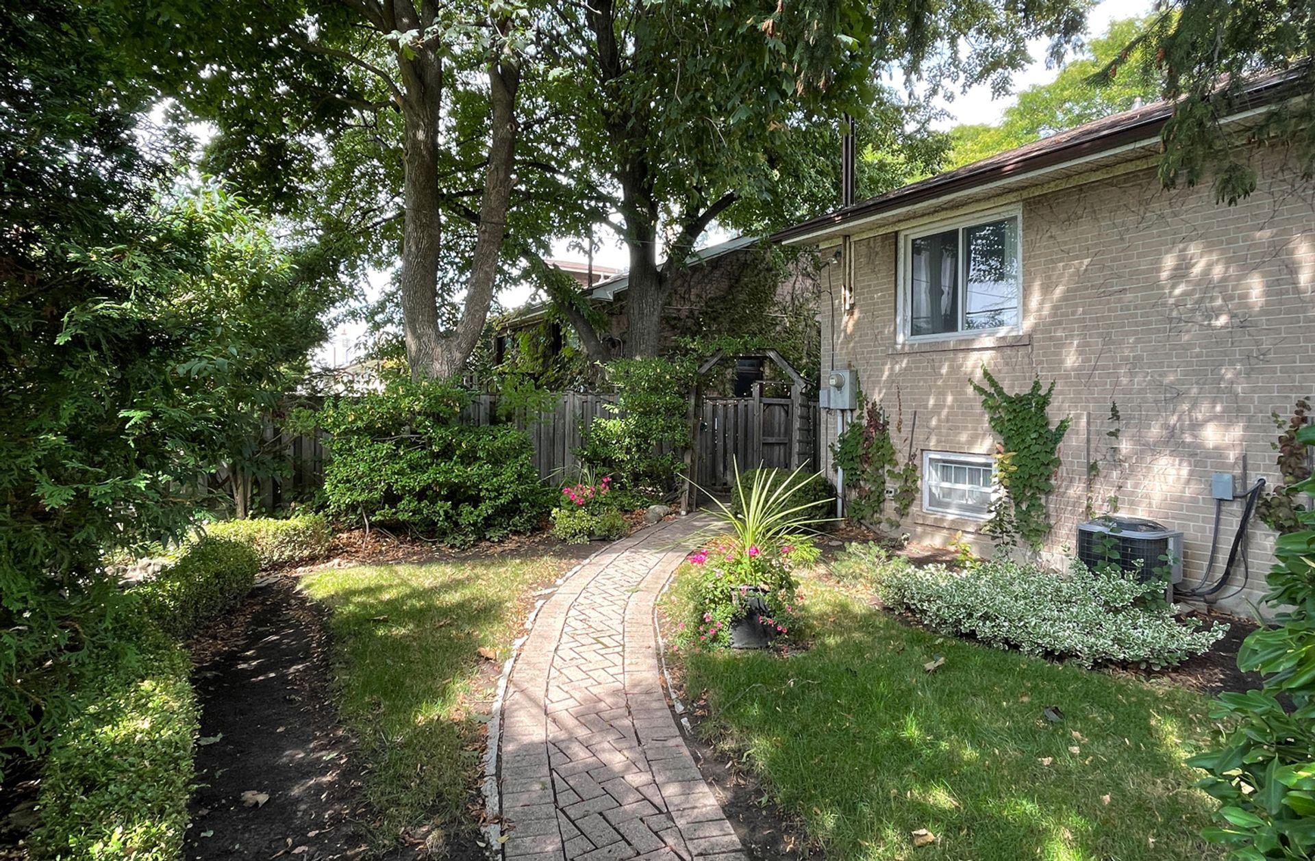 Backyard at 33 Combermere Drive, Parkwoods-Donalda, Toronto