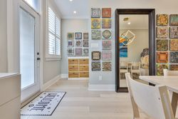 Foyer & Dining Room at 497 St. Johns Road, Lambton Baby Point, Toronto