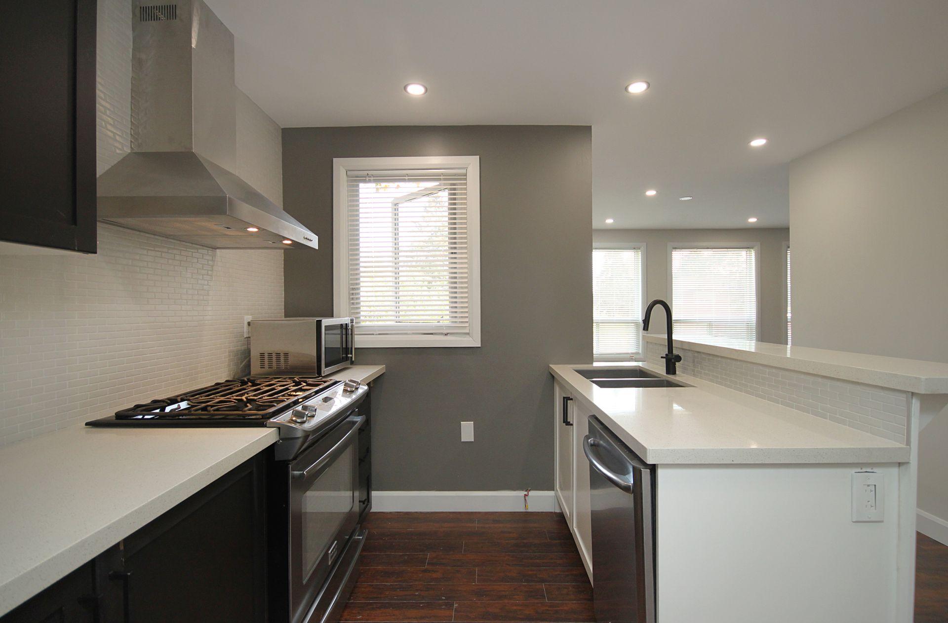 Kitchen at 20A Ballymena Court, Banbury-Don Mills, Toronto