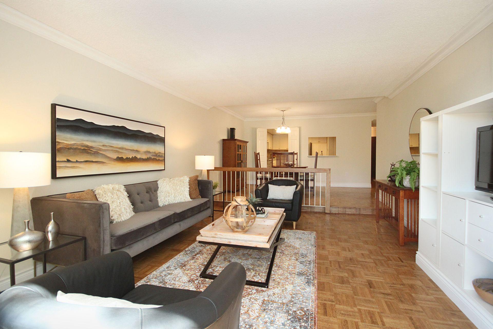 Living Room at 209 - 131 Beecroft Road, Lansing-Westgate, Toronto