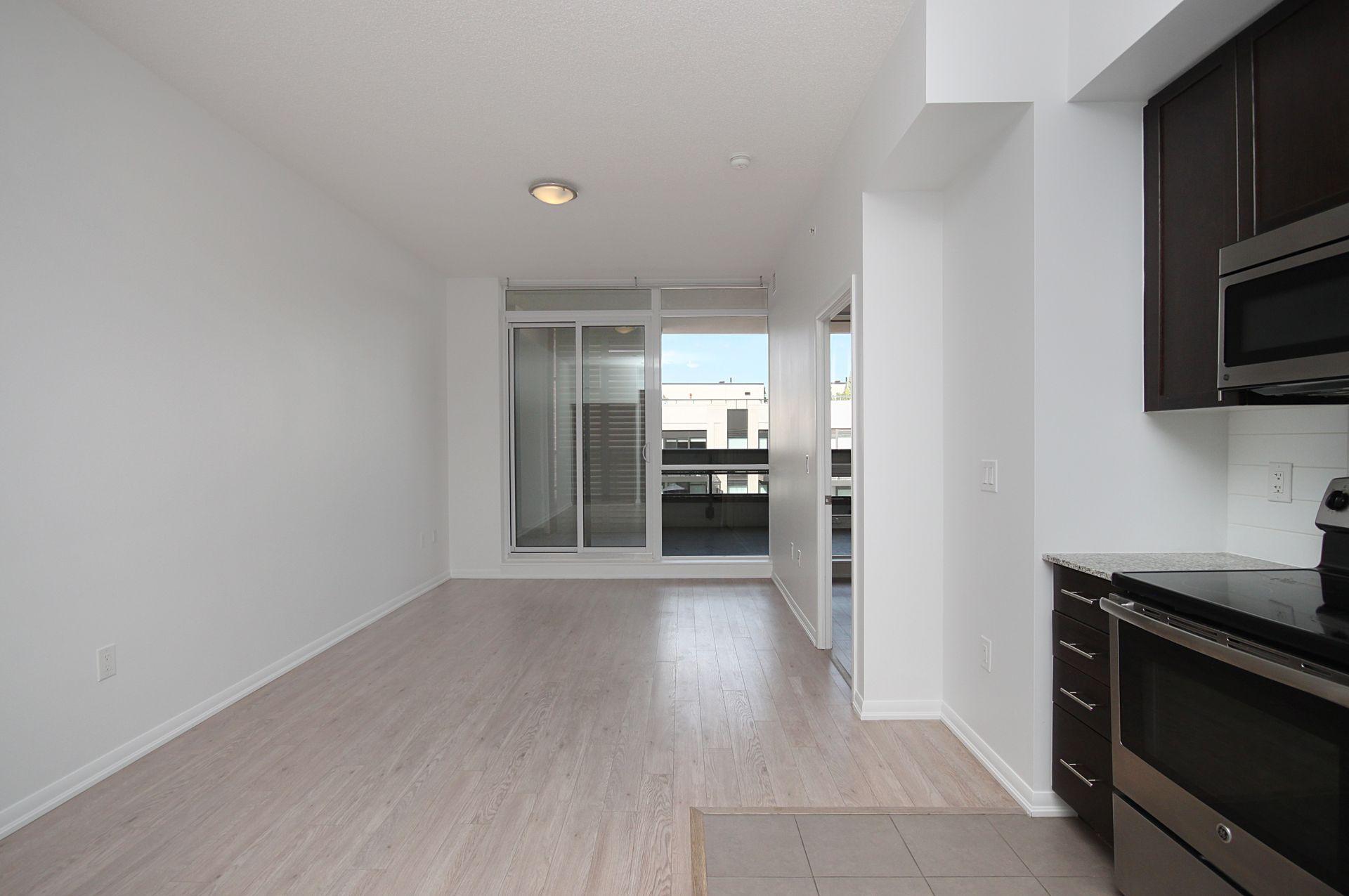 Kitchen & Living Room at 814 - 830 Lawrence Avenue W, Yorkdale-Glen Park, Toronto