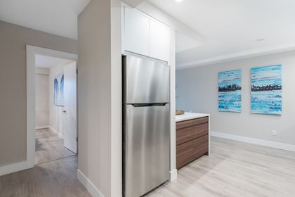 Fridge at 603 - 756 Great Northern Way, Mount Pleasant VE, Vancouver East