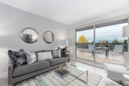 Sofa  at 603 - 756 Great Northern Way, Mount Pleasant VE, Vancouver East