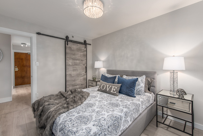 Master Bedroom at 603 - 756 Great Northern Way, Mount Pleasant VE, Vancouver East