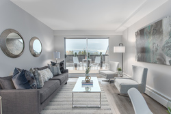 Living Room at 603 - 756 Great Northern Way, Mount Pleasant VE, Vancouver East