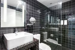 Bathroom at 101 - 1477 Fountain Way, False Creek, Vancouver West