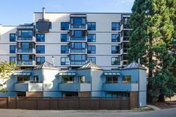 Building at 101 - 1477 Fountain Way, False Creek, Vancouver West