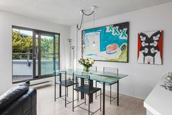 Dining at 101 - 1477 Fountain Way, False Creek, Vancouver West