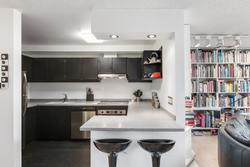 Kitchen at 101 - 1477 Fountain Way, False Creek, Vancouver West