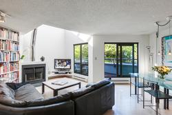 Living-Dining at 101 - 1477 Fountain Way, False Creek, Vancouver West