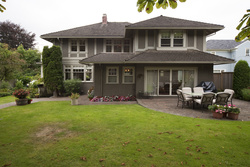 Backyard at 4410 Pine Crescent, Shaughnessy, Vancouver West