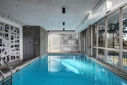 SwimmingPool at 4 - 815 Chilco Street, West End VW, Vancouver West