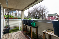 Balcony at 115 - 1890 West 6th Avenue, Kitsilano, Vancouver West