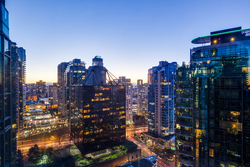View-South at 2403 - 555 Jervis Street, Coal Harbour, Vancouver West