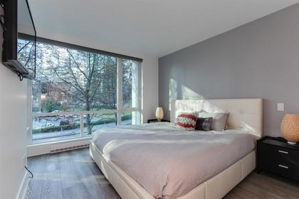 master bedroom on 2nd floor at 491 Broughton, Coal Harbour, Vancouver West