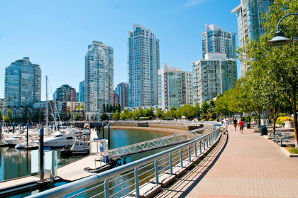 boardwalk at 491 Broughton, Coal Harbour, Vancouver West