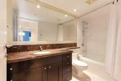 Master Ensuite at 491 Broughton, Coal Harbour, Vancouver West