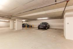 2 extra long parking stalls side by side in secure underground parking garage at 491 Broughton, Coal Harbour, Vancouver West
