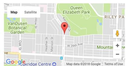 map-the-henry at 208 - 5389 Cambie Street, Cambie, Vancouver West