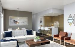 living-area at 208 - 5389 Cambie Street, Cambie, Vancouver West