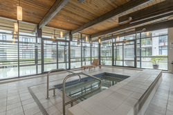 Rec Centre swirl-pool, sauna & showers at 708 - 4685 Valley Drive, Quilchena, Vancouver West