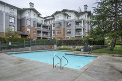 Outdoor Pool at 708 - 4685 Valley Drive, Quilchena, Vancouver West