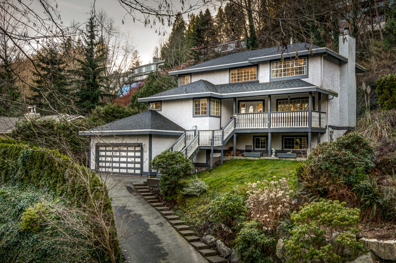 229RabbitLnFrontElevated at 229 Rabbit Lane, British Properties, West Vancouver
