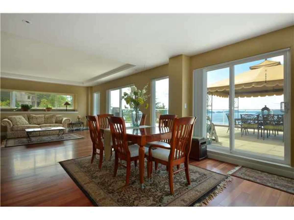 290 Kelvin Grove Dining Room at 290 Kelvin Grove Way, Lions Bay, West Vancouver