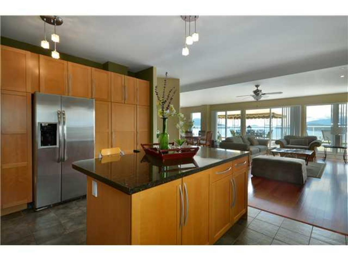 290 Kelvin Grove Kitchen at 290 Kelvin Grove Way, Lions Bay, West Vancouver