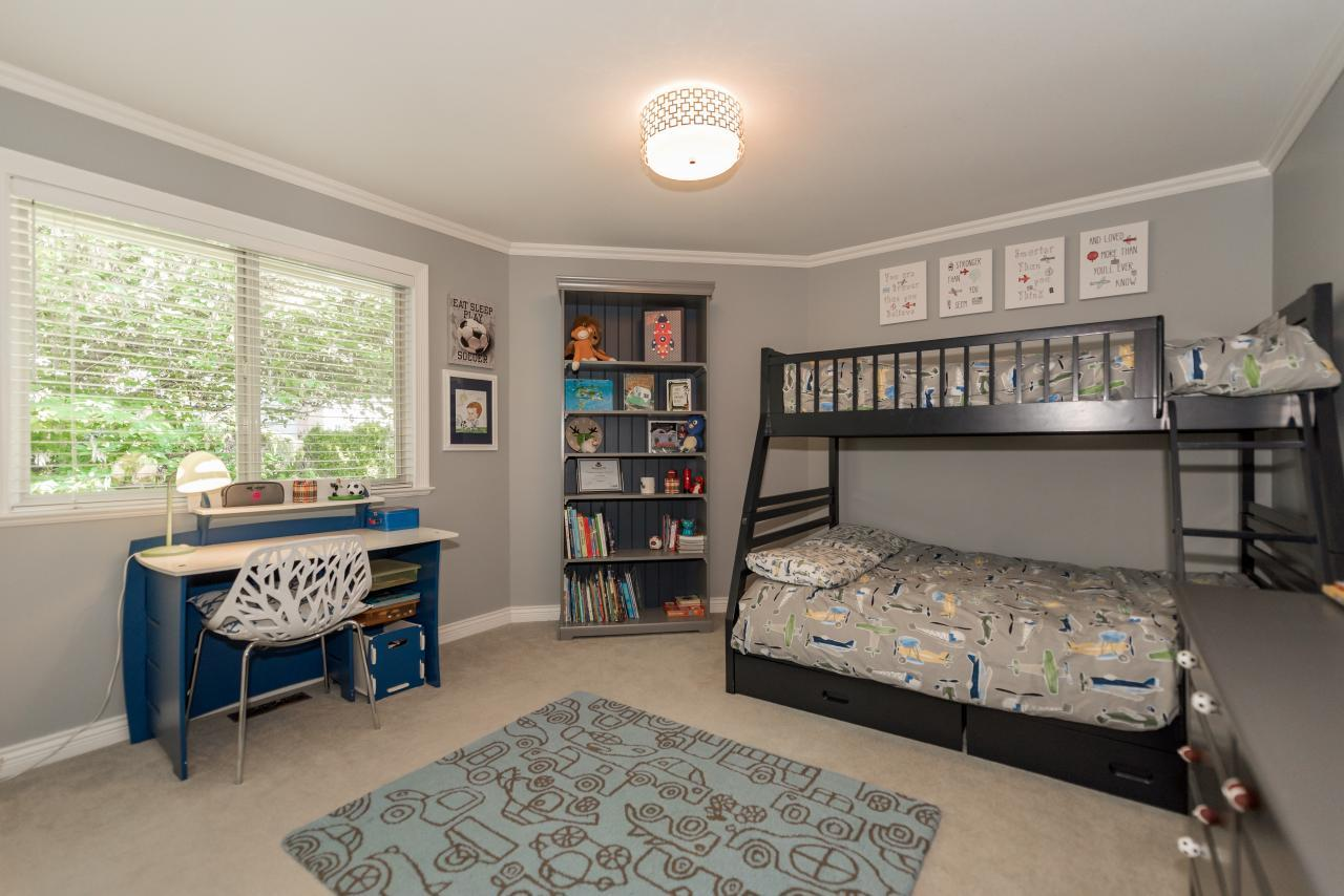 Bedroom at 3303 Huntleigh Court, Windsor Park NV, North Vancouver