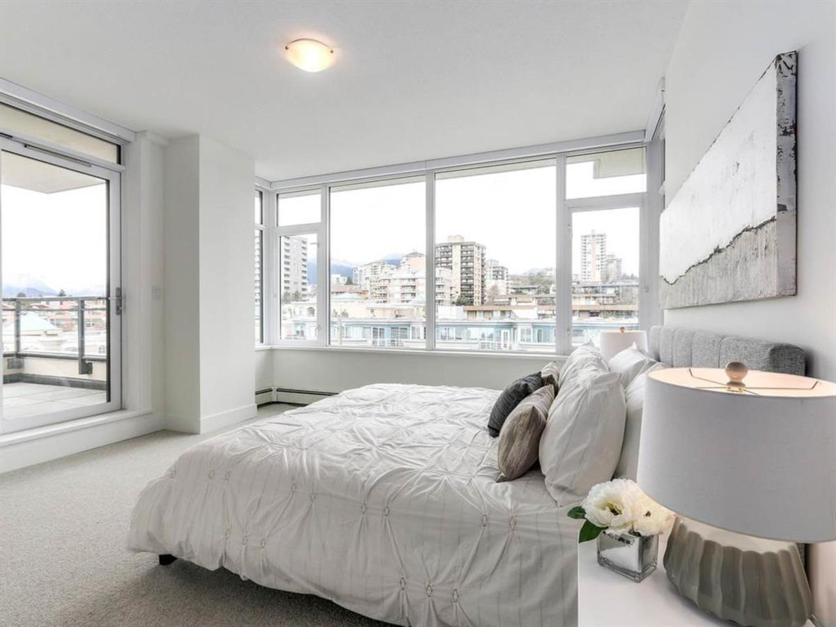 601-131-east-3rd-st-master-bed at 601 - 131 E 3rd Street, Lower Lonsdale, North Vancouver