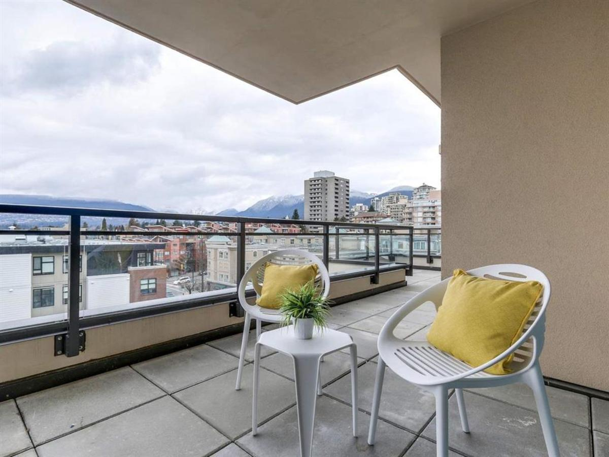 601-131-east-3rd-st-patio-terrace at 601 - 131 E 3rd Street, Lower Lonsdale, North Vancouver