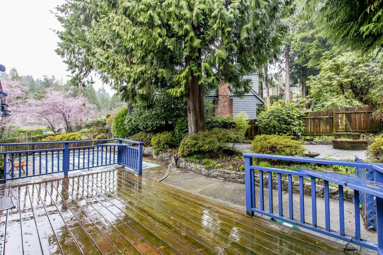 4710-willow-pl-rear-deck at 4710 Willow Place, Caulfield, West Vancouver