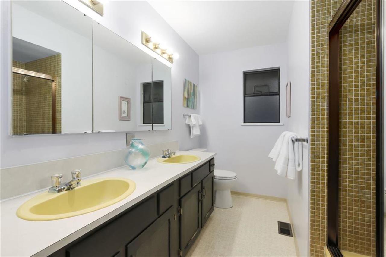 2732-hardy-cres-main-bath at 2732 Hardy Crescent, Blueridge NV, North Vancouver