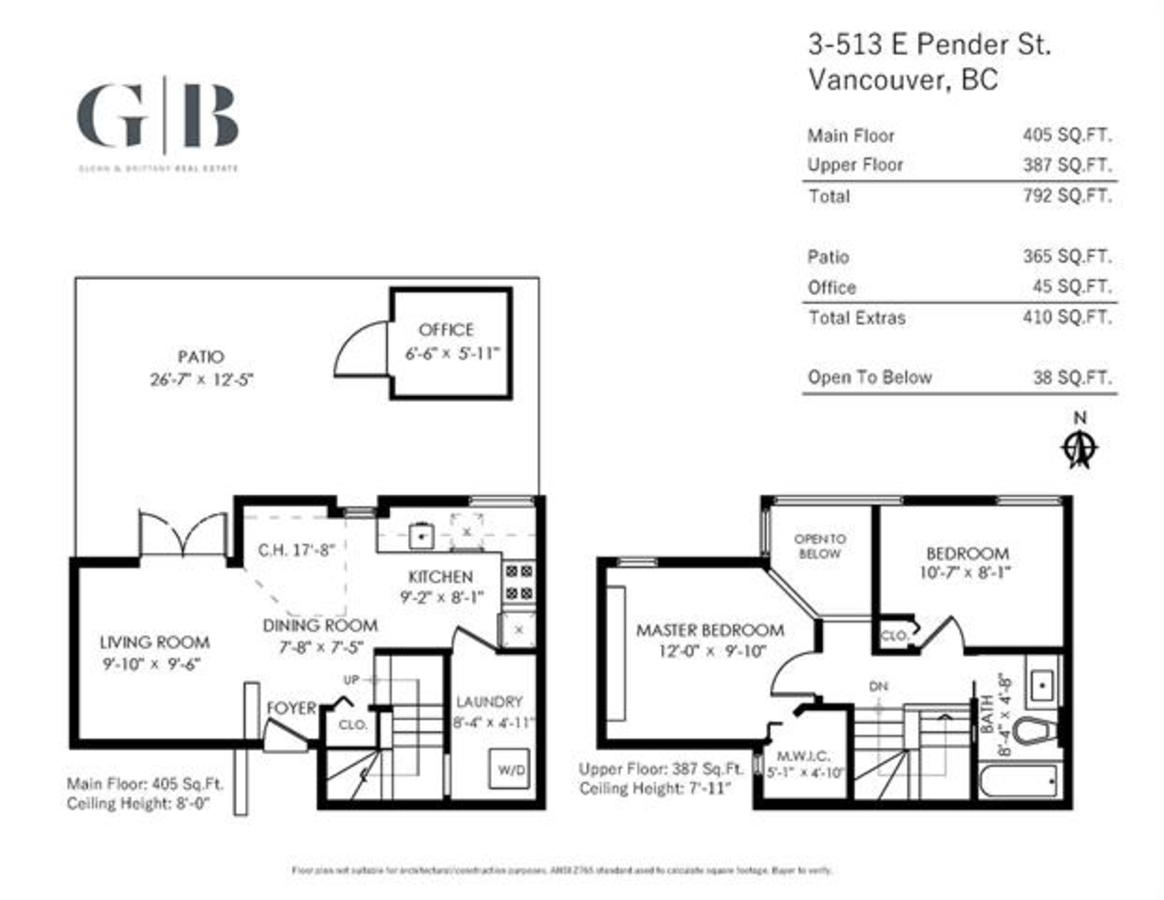3-513-e-pender-st-floor-plan at 3 - 513 E Pender Street, Vancouver West
