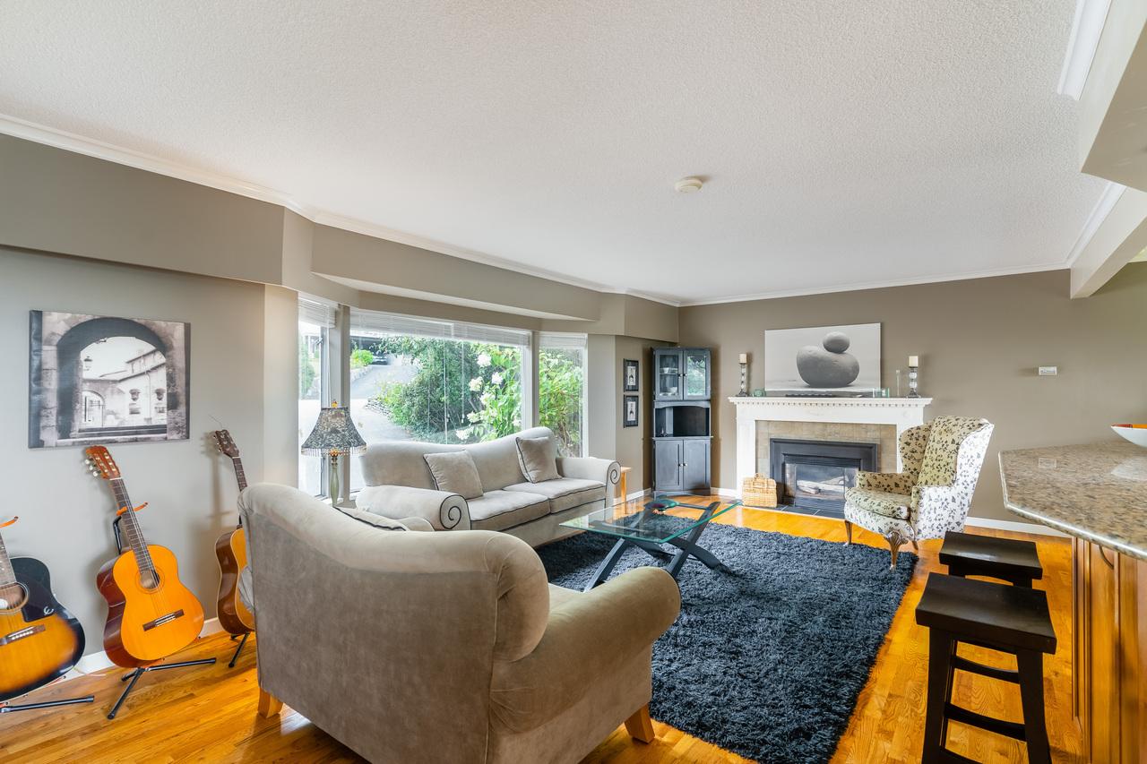 575-e-braemar-rd-living-room at 575 East Braemar Road, Braemar, North Vancouver