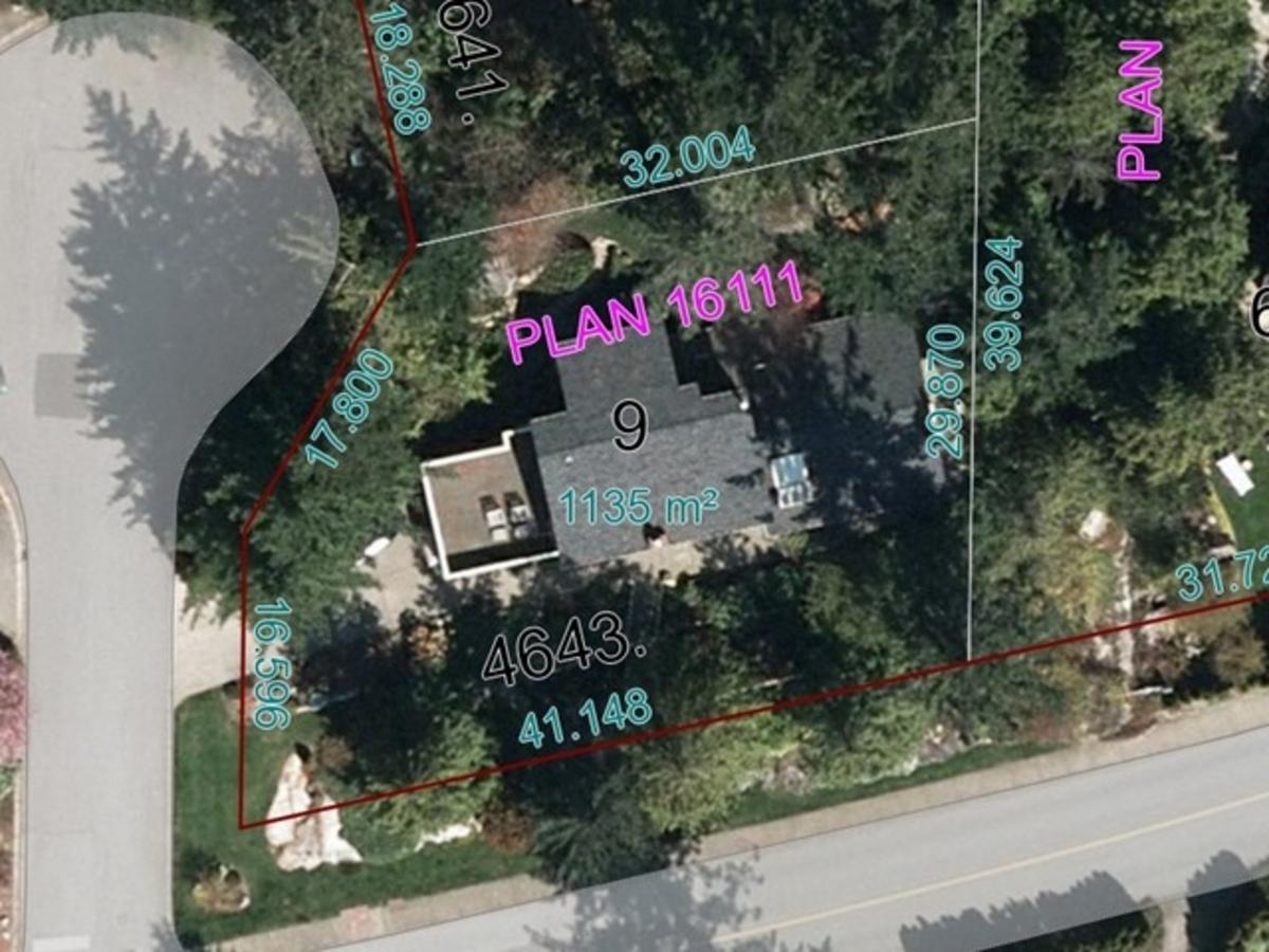 4643 Caulfeild Dr. Lot Plan at 4643 Caulfeild Drive, Caulfeild, West Vancouver