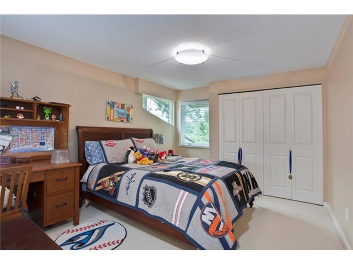 4643 Caulfeild Dr Bedroom at 4643 Caulfeild Drive, Caulfeild, West Vancouver