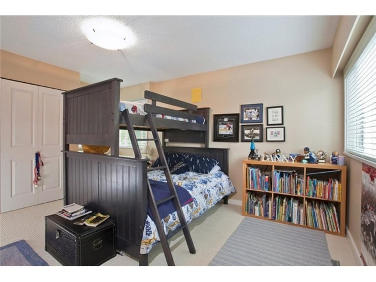4643 Caulfeild Dr Bedroom 2 at 4643 Caulfeild Drive, Caulfeild, West Vancouver