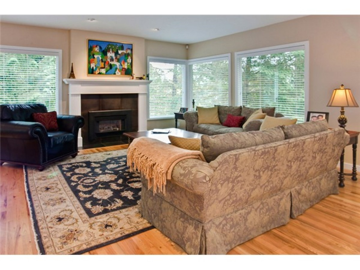 4643 Caulfeild Dr living Room at 4643 Caulfeild Drive, Caulfeild, West Vancouver